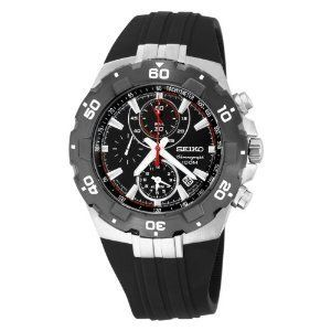 Seiko Mens Sport Alarm Chronograph Watch SNAD61
