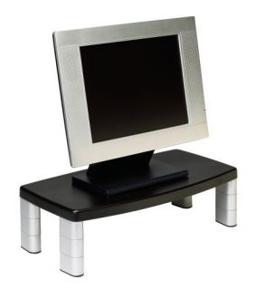 Extra Wide Adjustable Monitor Stand Computer Accessories New