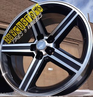 24 INCH BLACK IROC WHEELS RIMS TIRES 5X120.65 CAMARO CHEVELLE CUTLASS
