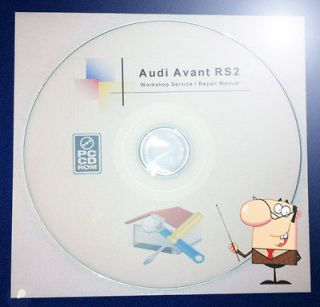 audi avant rs2 1994 workshop manual on cd from united
