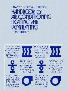Handbook of Air Conditioning, Heating and Ventilating 1979, Hardcover