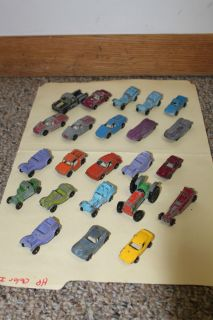 Antique Vintage Lot Tootsie Toy Metal Toy Cars and Trucks