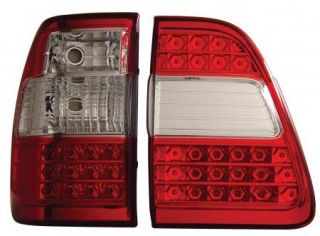 Anzo LED Tail Lights Lamps Red G2 311094 98 05 Toyota Land Cruiser FJ