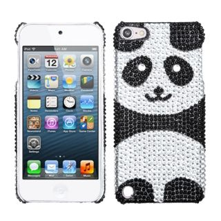 panda rhinestone protector cover case apple ipod touch 5th generation
