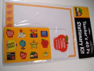 Stationary Kit Teacher Appreciation Gift Thank You Stickers Envelopes