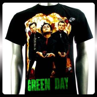 Green Day Billie Joe Alternative Rock Band T shirt Sz L Punk Men