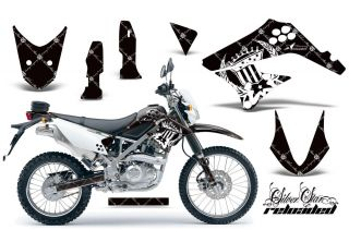 AMR RACING DIRT BIKE MOTOCROSS DECAL WRAP KAWASAKI D TRACKER KLX 125