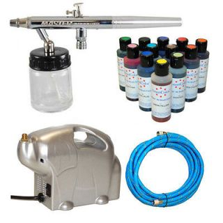 Dual Action Master Airbrush CAKE DECORATING AIRBRUSHING KIT SET 12
