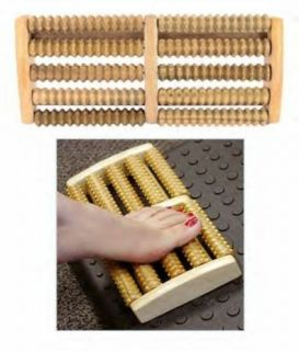 ASIAN ORIENTAL ~ ALL WOOD ~ FOOT MASSAGER THERAPY