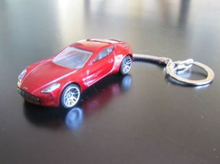 Aston Martin Vanquish DieCast sports car Key Chain Key Ring / Backpack