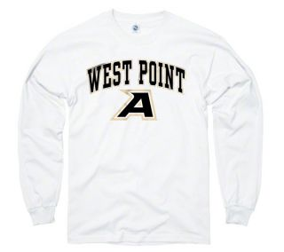 Army Black Knights West Point White Perennial II Long Sleeve T Shirt