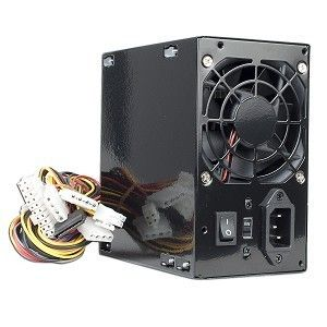 Logisys 480W 20 4 Pin ATX Computer Power Supply w SATA Black PS480D