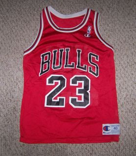 Jordan 23 Chicago Bulls Basketball Jersey Adult 40 by Champion