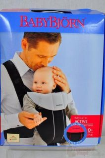 BabyBjorn Baby Carrier Active Black Red