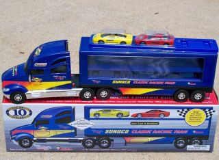 2003 Sunoco Gas Classic Racing Team Car Carrier Tractor Truck 10