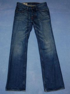 Abercrombie Kids Baxter Low Rise Slim Boot Cut Jeans Boys Size 12 Slim