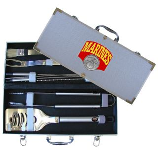 BBQ TOOL SET W CASE Marine Corps See Our Store