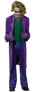 Batman Dark Knight Joker Grand Heritage Villain Adult Costume Party