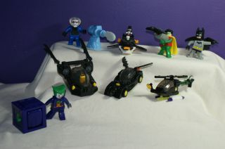 McDonalds Happy Meal Toy LEGO BATMAN 2008 Complete Set Loose