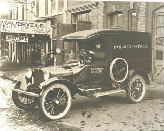 Vintage Police Vehicle 1920 Cop Car Benton Harbor MI