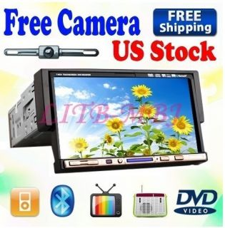On Sale Best 1 DIN 7 in Dash Car Stereo DVD Player TV iPod BT Radio