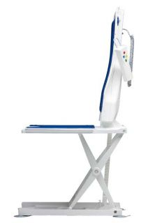 Drive Medical Bellavita Auto Bath Tub Chair Seat Lift in White Bathtub
