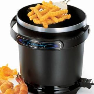 Frydaddy Electric Deep Fryer Aluminum Nonstick Easy to Clean