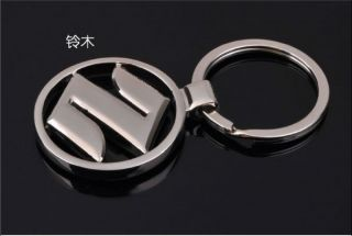 Japan Suzuki Car Logo Metal Key Chain Ring Kizashi SJ125 B GX125 SJ110