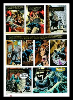 Bernie Wrightson Original Color Art The Black Cat