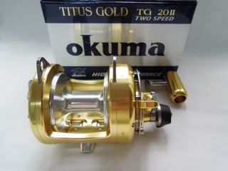 Gold TG 20 II High Speed Lever Drag Reel Big Game Fishing Reel