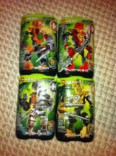 LEGO Bionicle, Hero Factory Furno, Nex, Bulk, Rocka new, sealed