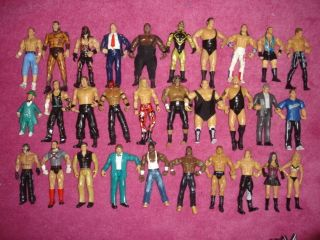 Classic Series Wrestling Figures Jakks Mattel Basic Elite Series Toy