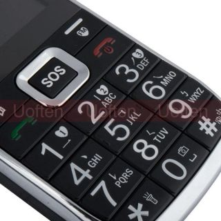 Band Dual Sim Card Big Keypad Torch SOS FM Mobile Cell Phone