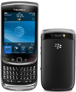 New Blackberry Torch 9800 Unlocked GSM Phone OS 6 Touchscreen QWERTY