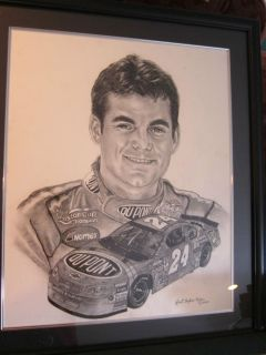 Jeff Gordon NASCAR Champion Dupont Chevrolet Painting by Robert