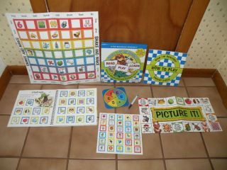 Childrens Phonics Bingo Activity Game Kid Read Play Lt