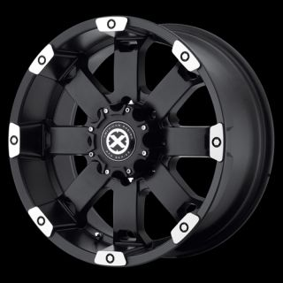 17 Inch Black Wheels Rims Dodge Ram 2500 3500 Truck Chevy Silverado 8