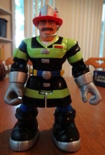 Billy Blaze Firefighter from Fisher Price Rescue Heroes Action Figure