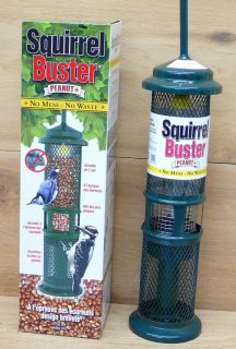 Proof Squirrel Buster Peanut Plus Woodpecker Feeder Brome Bird