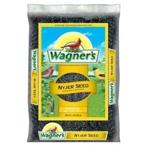 12 Pounds Premium Nyjer Seed Wild Bird Food Wagners 62047