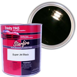 Gallon Super Jet Black Acrylic Enamel Car Paint