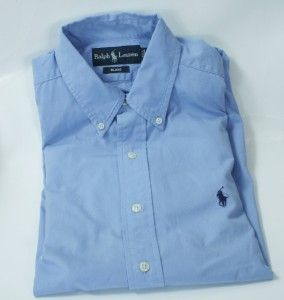 Lot of 5 Polo Ralph Lauren Dress Mens Size Medium Oxford L s Dress