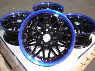 15 Effect Wheels Blue Rims Horizon Ion Saturn Aerio Esteem Golf Toyota