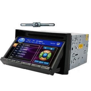 DIN Car CD DVD Player Radio RDS Bluetooth USB SD USB iPod