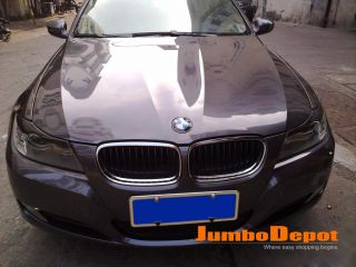 BMW E90 Carbon Fiber Eyelids Eyebrows Headlight Cover