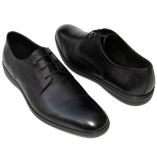 295 HUGO BOSS Black LABEL Round Oxford Dress Mens Shoes 9 5 42 5