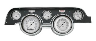 Classic Instruments 67 68 Ford Mustang Gauges Cluster w/ Black Dash