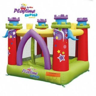 Kidwise Playtime Inflatable Bounce House Castle with Blower