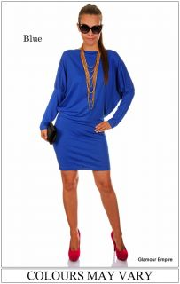 New ♥ Sexy Ladies Long Sleeve Dress ♥ One Size (10•12