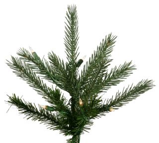 Pre Lit Natural Frasier Fir Artificial Christmas Tree Clear